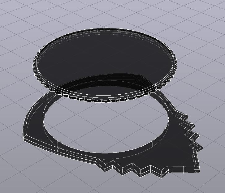 UNU-TRI DENT pua nido by eXiMienTa Rayos-x.jpg Download free STL file UNU-DENT / UNU-TRI DENT by eXiMenTaTing Guitar Weave Dual Extruder Carbon Fiber • 3D printer object, carleslluisar