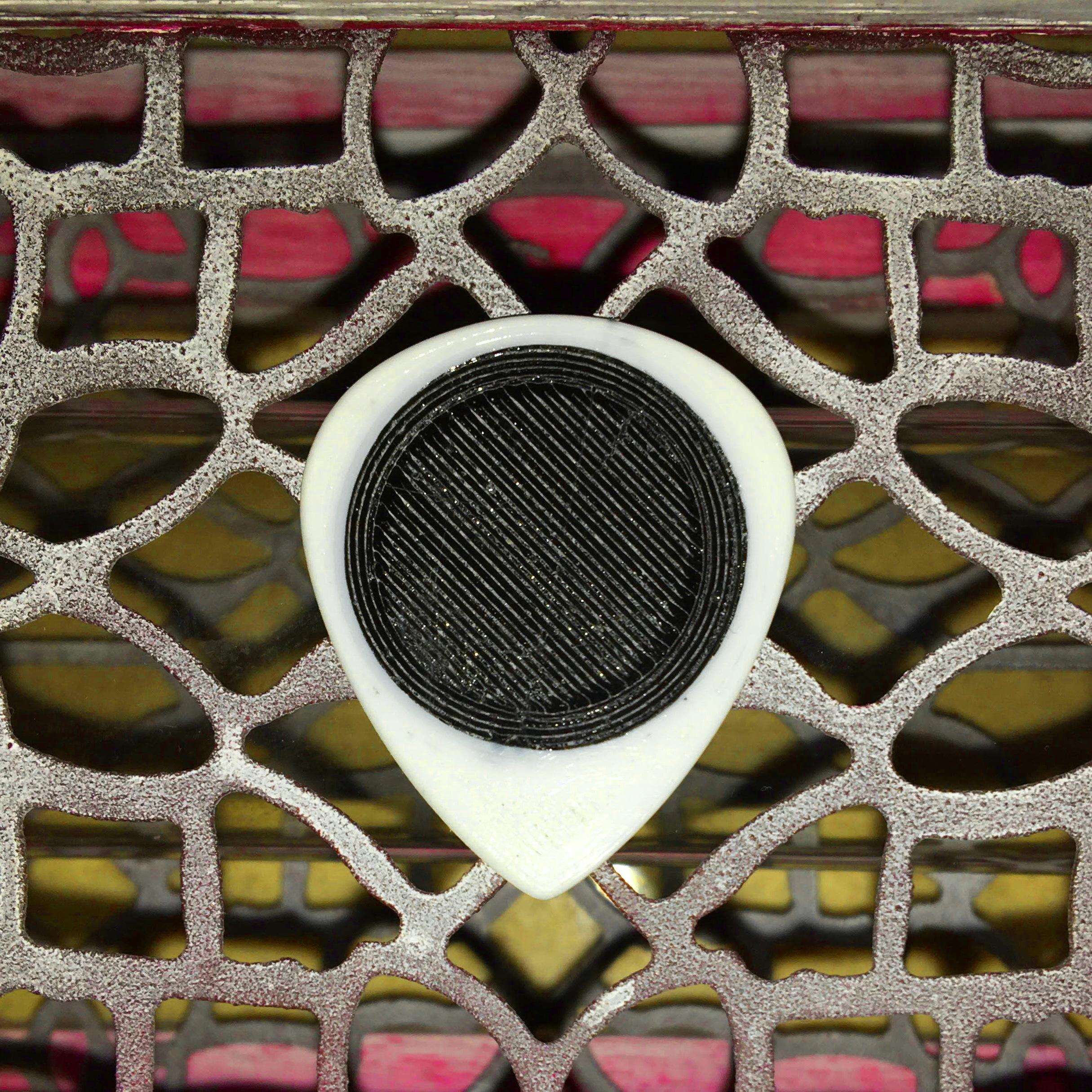 UNU R10'5 26X31.jpg Descargar archivo STL gratis UNU R10'5 26X31 - púa nido para guitarra eléctrica • Diseño imprimible en 3D, carleslluisar