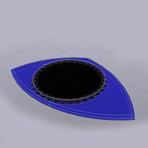 PITA  23x36R9 071020192313 foto Rayos-X.jpg Télécharger fichier STL gratuit PITA 22x36R9 071020192313 PUA NIDO GUITAR PICK BY EXIMIENTA PLA - TPU DUAL EXTRUDER 3D guitar pick • Modèle à imprimer en 3D, carleslluisar
