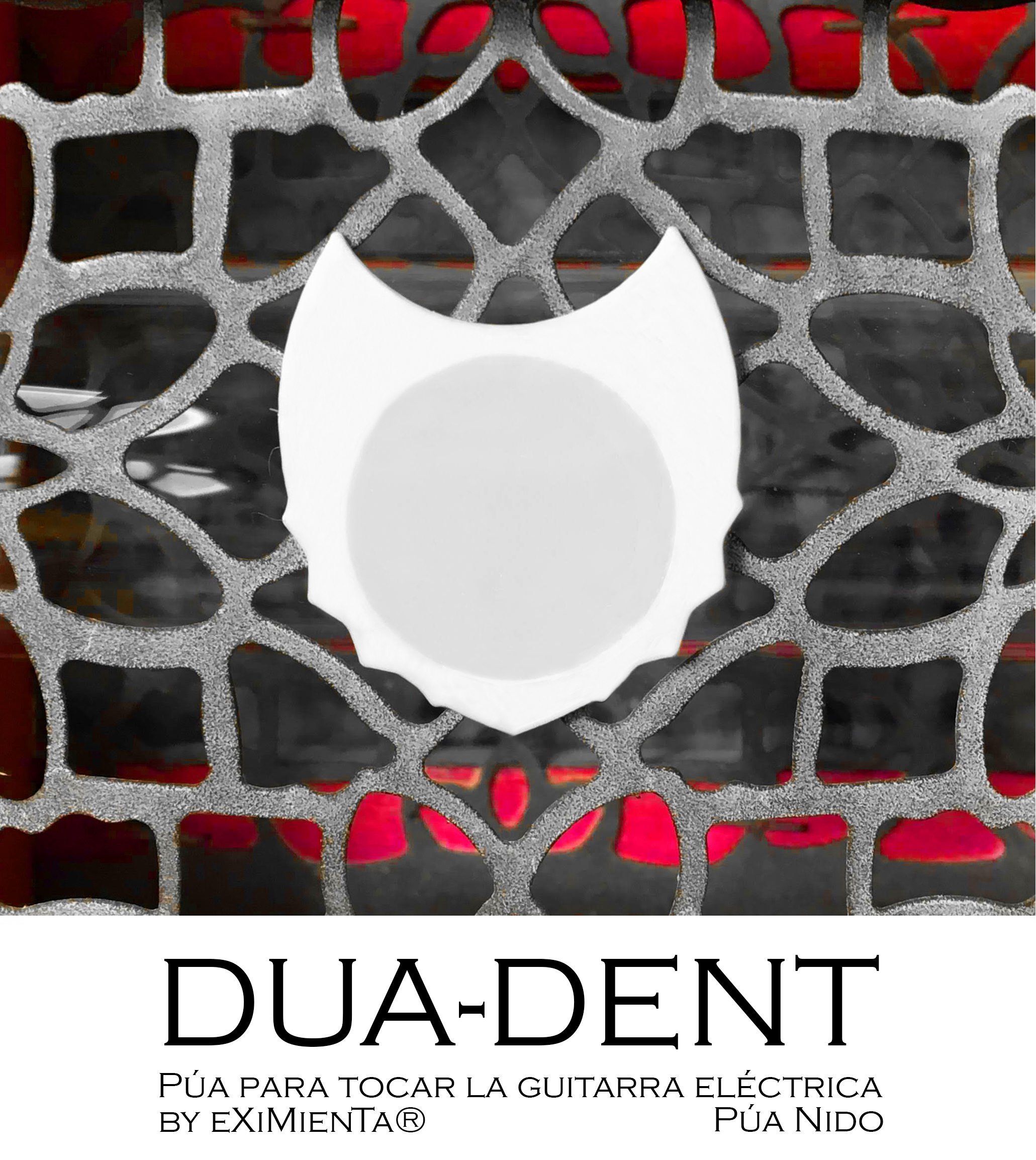 DUA-DENT 04-Abril-2020 by eXiMienTa.jpg Download free STL file DUA-DENT 01 - 02 3D Guitar Tips • Design to 3D print, carleslluisar