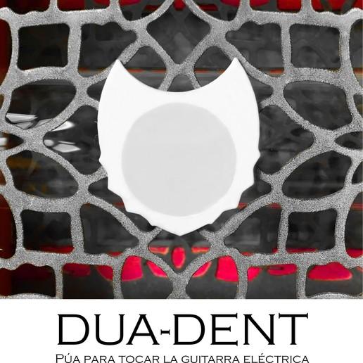 Download free STL file DUA-DENT 01 - 02 3D Guitar Tips • Design to 3D print, carleslluisar