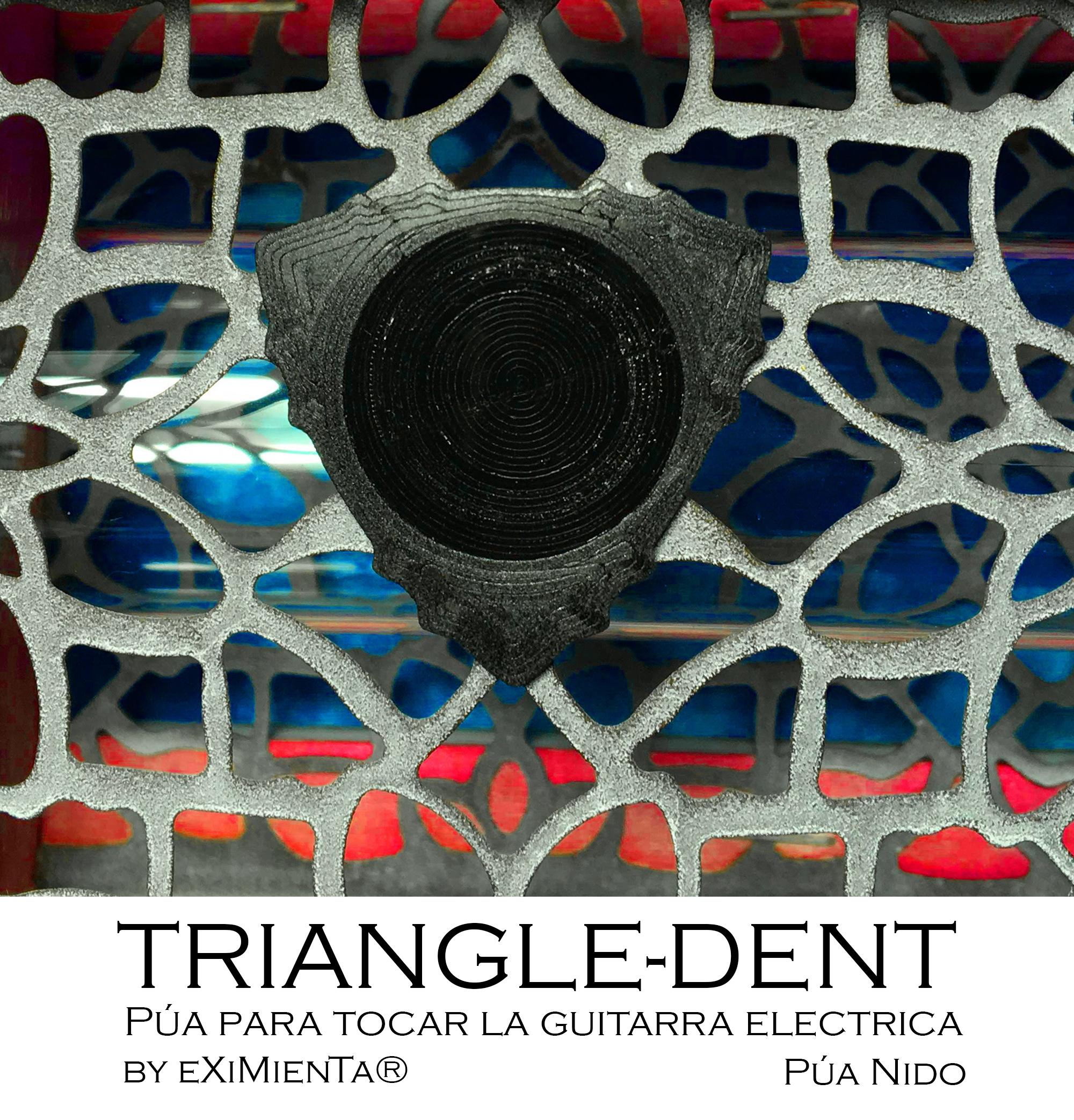TRIANGLEDENT R10'5 31x31 21042020 imagen.jpg Télécharger fichier STL gratuit ACIDE POLY-LACTIQUE PLA TRIANGLE-DENT FIBRE DE CARBONE AVEC BANDE ANTIDÉRAPANTE EN POLYURÉTHANE THERMOPLASTIQUE TPU • Objet à imprimer en 3D, carleslluisar