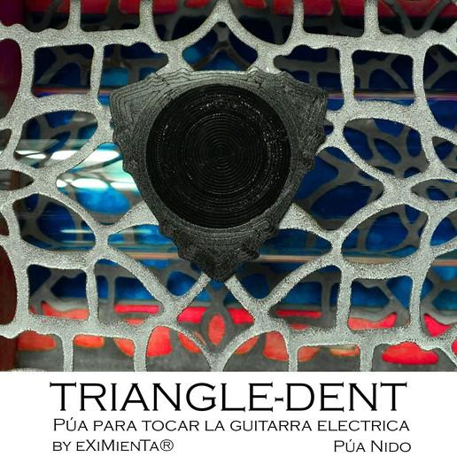 TRIANGLEDENT R10'5 31x31 21042020 imagen.jpg Download free STL file POLY-LACTIC ACID PLA TRIANGLE-DENT CARBON FIBER WITH TPU THERMOPLASTIC POLYURETHANE NON-SKID BAND • 3D printer design, carleslluisar