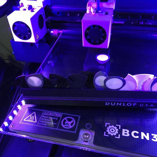 BCN3D Sigma R19 Puas Nido by eXiMienTa.JPG Télécharger fichier STL gratuit UNU-DENT 3D Guitar Tine 2 Materials PLA / TPU Serrated Tines • Plan pour imprimante 3D, carleslluisar