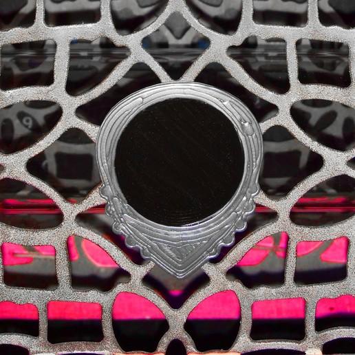 Download free STL file UNU-DENT R10'5 26X31 - nest pick for PLA & TPU Electric Guitar White • 3D printable design, carleslluisar