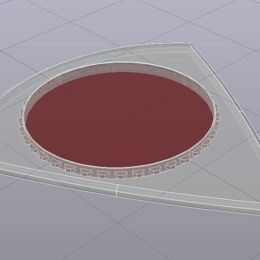 PICUDA R9 30x32 03042020 Rayos-X.jpg Download free STL file UNU-TRI PICUDA MAX3D Pua Nido (Nest Pick Guitar) • 3D printable template, carleslluisar