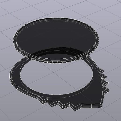 UNU-DENT pua nido by eXiMienTa Rayos-X.jpg Download free STL file UNU-DENT / UNU-TRI DENT by eXiMenTaTing Guitar Weave Dual Extruder Carbon Fiber • 3D printer object, carleslluisar