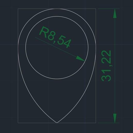 02 FlexCircle Raindrop-Lise 1'15mm Medidas.jpg Download free STL file FlexCircle Raindrop-Lise Nestle by eXiMienTa® • 3D printable design, carleslluisar