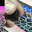 Télécharger fichier imprimante 3D gratuit FlexiPick TRIANGLE-DENT guitare électrique flexible 3D PLA et TPU, carleslluisar