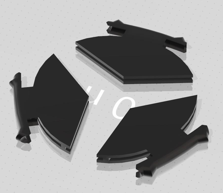 DAMP pick by eXIMienTa® 12092020005.jpg Télécharger fichier 3MF gratuit DAMP pick by eXIMienTa® ORUS PLA And White TPU • Plan à imprimer en 3D, carleslluisar