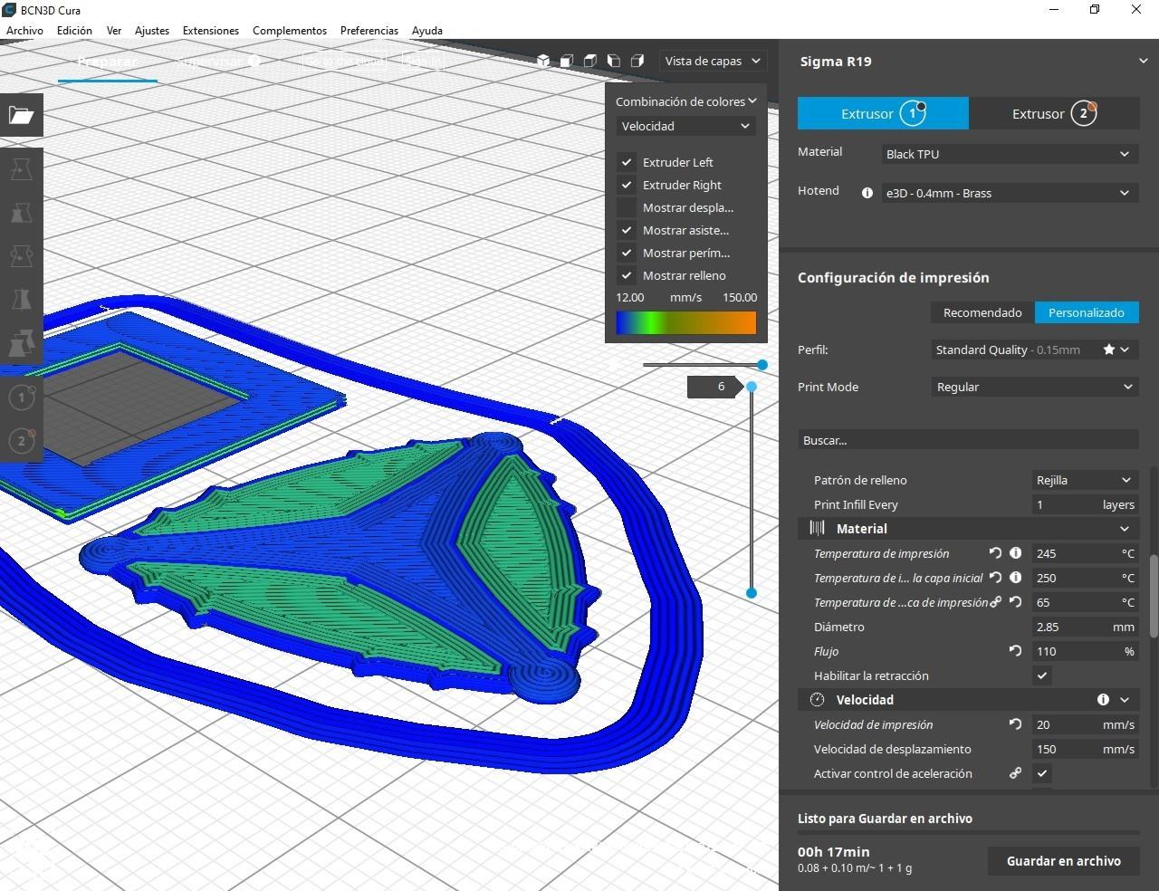 funda pua nido001.jpg Download free STL file DAMP FlexiPick pua nido by eXiMienTa • Model to 3D print, carleslluisar