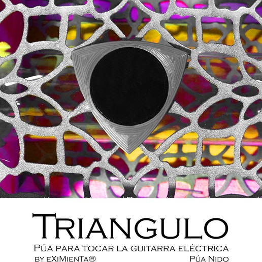 Download free STL files TRIANGLE PLA AND TPU nest tine, carleslluisar