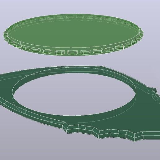PitaDentFibra concentrico L245 R240grados Rayos-X.jpg Download free 3MF file Carbon Fiber PITA-DENT PLA Poly-Lactic Acid Guitar Spike with TPU Thermoplastic Polyurethane Non-Slip Grip Membrane • 3D printable model, carleslluisar