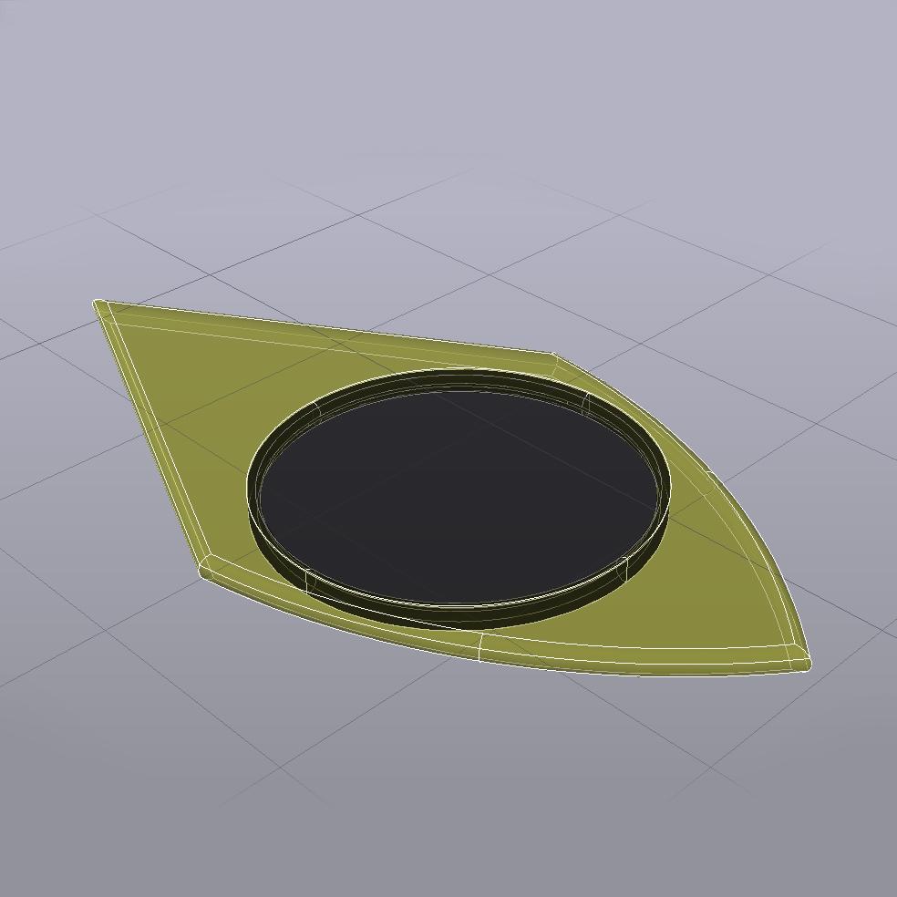 Kvar 161019-1738 3D-CAD Rayos-X.jpg Download free STL file KVAR Pua Nido PLA SILVER and TPU Black (Nest Pick Guitar) • 3D printer model, carleslluisar