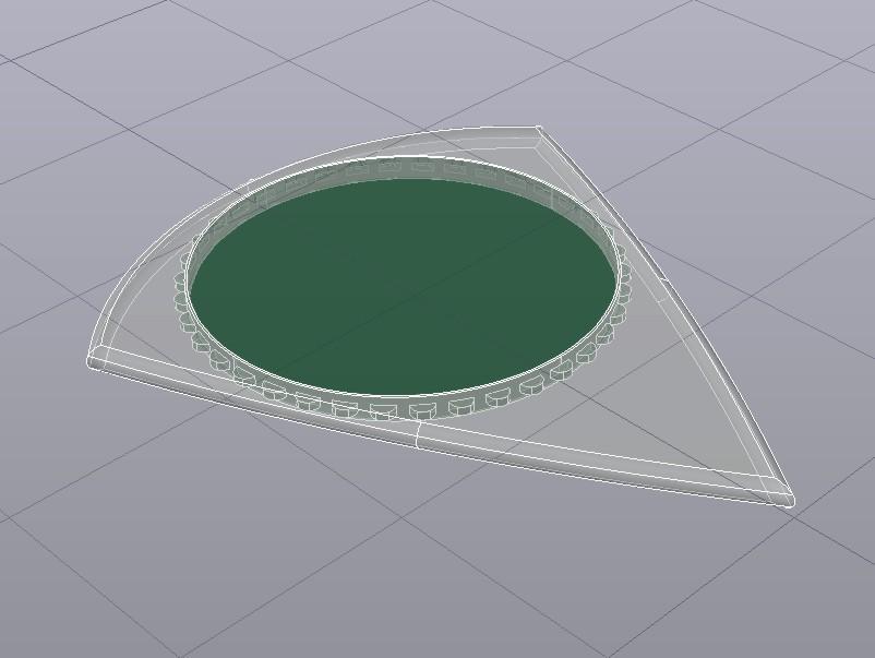 PICUDA R9 26x31 01042020 Rayos-x.jpg Télécharger fichier STL gratuit UNU-TRI PICUDA Pua Nido (guitare à plectre) • Objet imprimable en 3D, carleslluisar