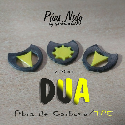 Download free STL file DUA-Dent / Smooth ElasticCentreOctogonal/Pyramidal Curve 2'30mm • 3D printing template, carleslluisar