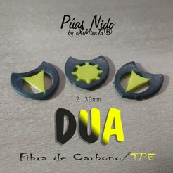 26 DUA-Dent ElasticCentreOctogonal 2'30.jpg Télécharger fichier STL gratuit DUA-Dent / Smooth ElasticCentreOctogonal/Pyramidal Curve 2'30mm • Design pour impression 3D, carleslluisar