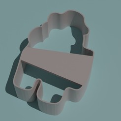 AmongUsHuevo.jpg Download STL file AMONG US COOKIE CUTTER WITH EGG ON THE HEAD • 3D print template, Torrante