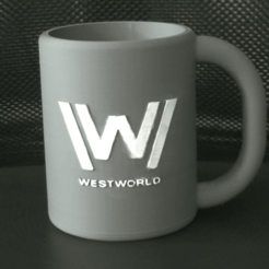 Download 3D printer model Westworld mug, Piratocola