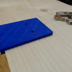 IMG_20200416_193531.jpg Descargar archivo STL Plantillas de perforación de Blum • Diseño para la impresora 3D, Piratocola