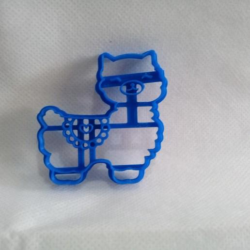 20191013_123243.jpg Télécharger fichier STL gratuit Joli emporte-pièce lama à l'emporte-pièce • Plan pour imprimante 3D, NicoDLC