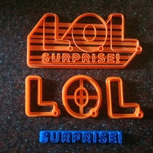 20191107_163702.jpg Télécharger fichier STL gratuit LoL Logo Surprise Cookie cutter complet et en pièces détachées • Plan pour imprimante 3D, NicoDLC