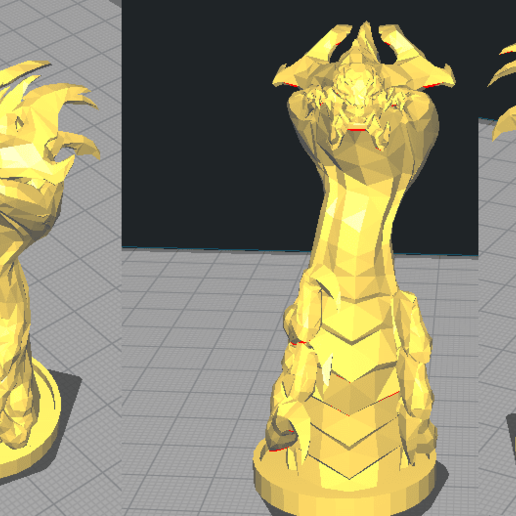 Télécharger fichier STL gratuit Baron Nashor League Of Legends (LoL) • Objet à imprimer en 3D, NicoDLC