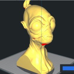 Download STL files Abe's Oddysee Bust (Oddworld) 3D Model, NicoDLC