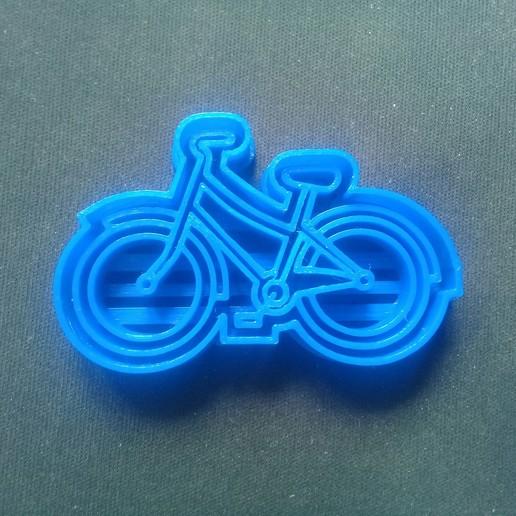 20191221_141151.jpg Télécharger fichier STL gratuit Coupe-biscuits pour bicyclette • Objet pour imprimante 3D, NicoDLC