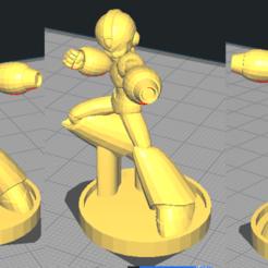Télécharger fichier imprimante 3D gratuit Modèle 3D MegaMan, NicoDLC