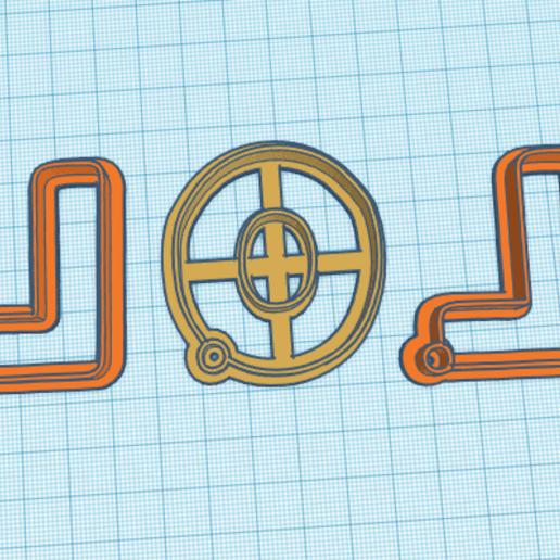 LoL letras.png Télécharger fichier STL gratuit LoL Logo Surprise Cookie cutter complet et en pièces détachées • Plan pour imprimante 3D, NicoDLC