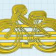 bici.png Télécharger fichier STL gratuit Coupe-biscuits pour bicyclette • Objet pour imprimante 3D, NicoDLC