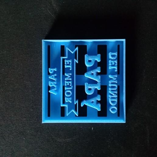 Télécharger fichier STL gratuit Fête des pères courte (la meilleure pomme de terre au monde) • Modèle à imprimer en 3D, NicoDLC
