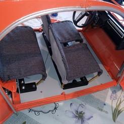 Descargar STL gratis CITROEN 2HP TABLERO DE INSTRUMENTOS, MINIALAND57