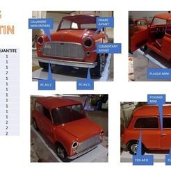 Descargar Modelos 3D para imprimir gratis MINI AUSTIN 1/6 RC DETALLES, MINIALAND57