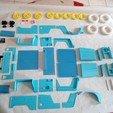 Download 3D printer designs CITROEN MEHARI 1/6 BODYWORK, MINIALAND57