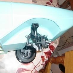 Télécharger plan imprimante 3D AMPHICAR 770 1961 ESSIEU AVANT, MINIALAND57