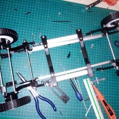 Descargar diseños 3D CHASIS CITROEN 2HP, MINIALAND57