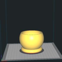 Flowerpot_ball_100mm.png Download free STL file Flowerpot_ball • 3D printable design, miskovj