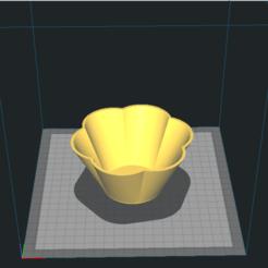 Fwptf1.png Download free STL file Flowerpot_flower • 3D printing template, miskovj
