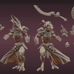 Descargar diseños 3D gratis TZ Beastmen, leesedrenfort