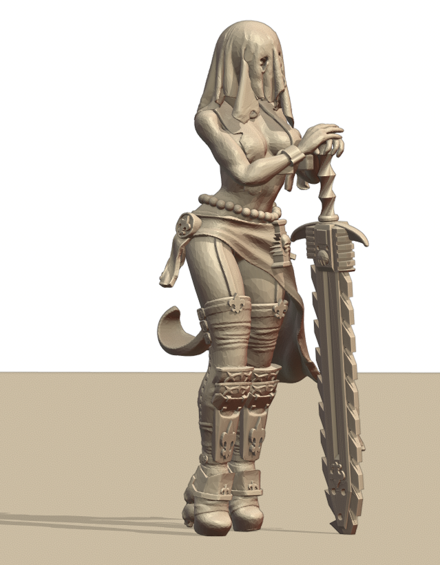 Repent2.png Download STL file Sisters of the Holy Chain Saw • 3D printing object, Leesedrenfort