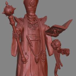 Descargar diseños 3D gratis Sacerdote purificador de la Iglesia de piedra negra., leesedrenfort
