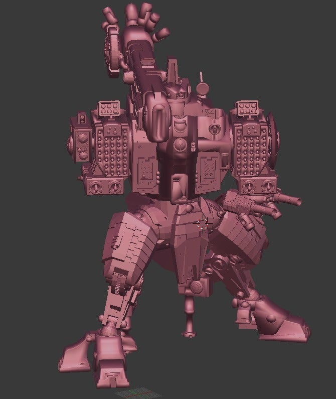 0c57bade35679b44ecd66992908c5979_display_large.jpg Download free OBJ file Tempest Rush Mech • 3D printer model, Leesedrenfort