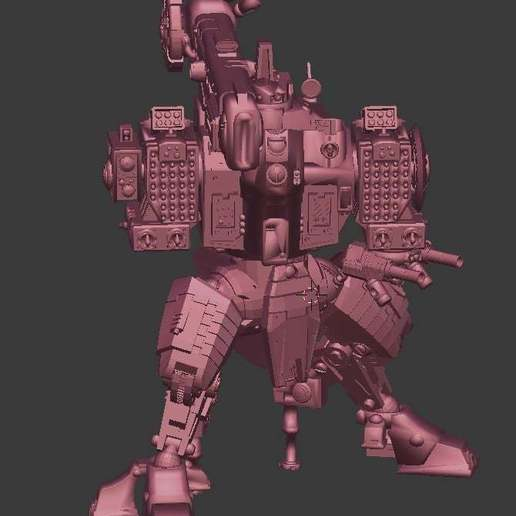 Download free STL file Tempest Rush Mech, leesedrenfort