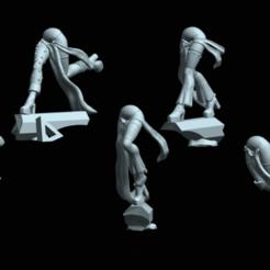 harleytroops4.png Download STL file The Elven Carnivale Troupe • 3D printing design, Leesedrenfort
