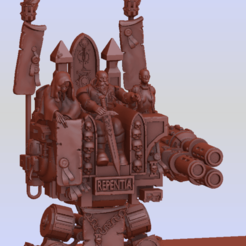 Inquisitor dread 5.png Download STL file Inquisitor K Man and His Party Throne • 3D printer model, Leesedrenfort
