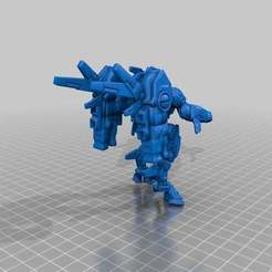 Download free STL files Cold StarFish People Command Suit, leesedrenfort