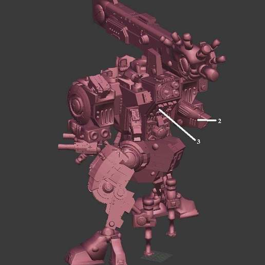 d2609c297250adbf8dd90b270a390969_display_large.jpg Download free OBJ file Tempest Rush Mech • 3D printer model, Leesedrenfort