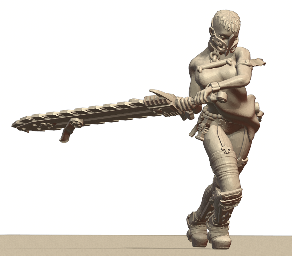 Repent3.png Download STL file Sisters of the Holy Chain Saw • 3D printing object, Leesedrenfort